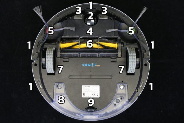 ECOVACS DEEBOT OZMO 900 Component Underside