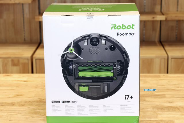 iRobot Roomba i7 Plus Box Rear