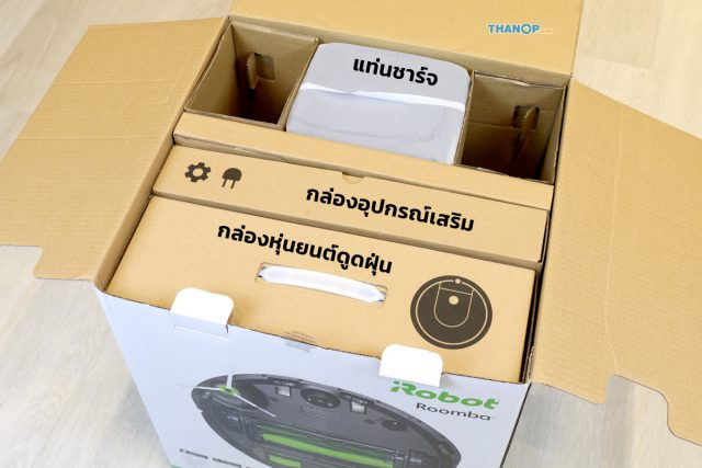 iRobot Roomba i7 Plus Box Unpacked