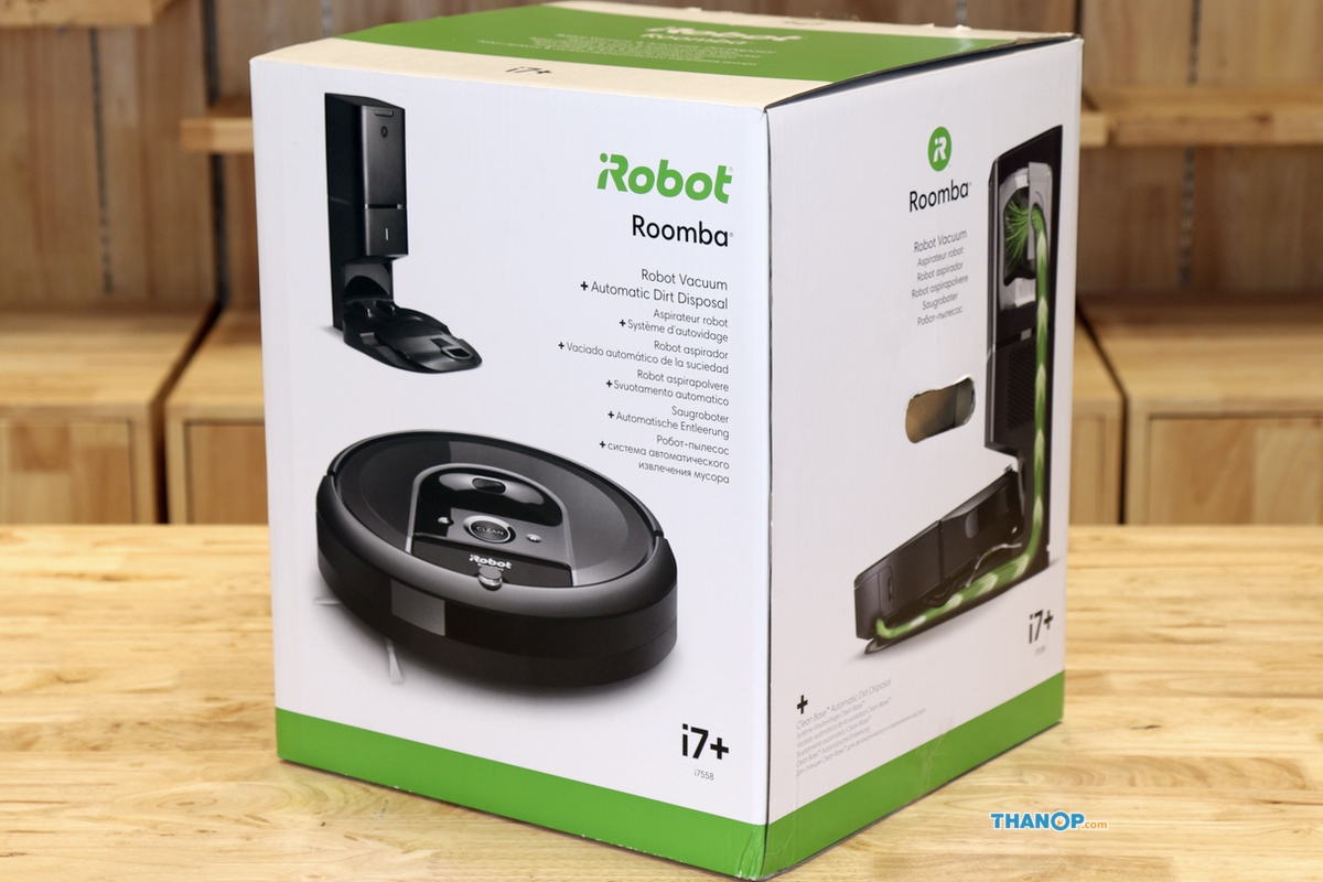 Irobot Roomba I7 Plus Box Thanop Com