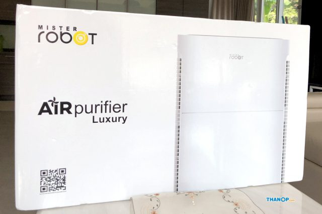 Mister Robot Air Purifier LUXURY Box Front