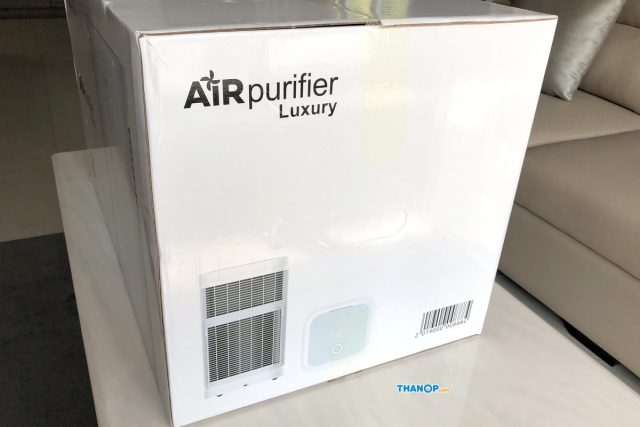 Mister Robot Air Purifier LUXURY Box Side