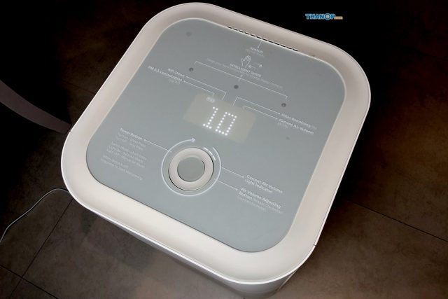 Mister Robot Air Purifier LUXURY Working