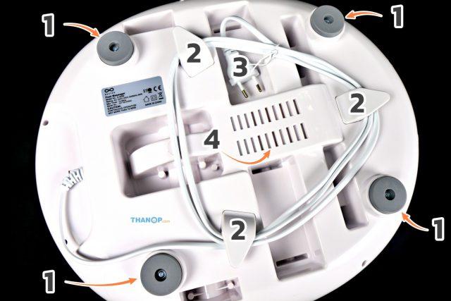 RESTER iStepp E-8099 Component Underside