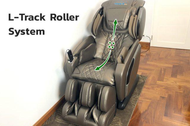 RESTER VP EC-623 Feature L-Track Roller System