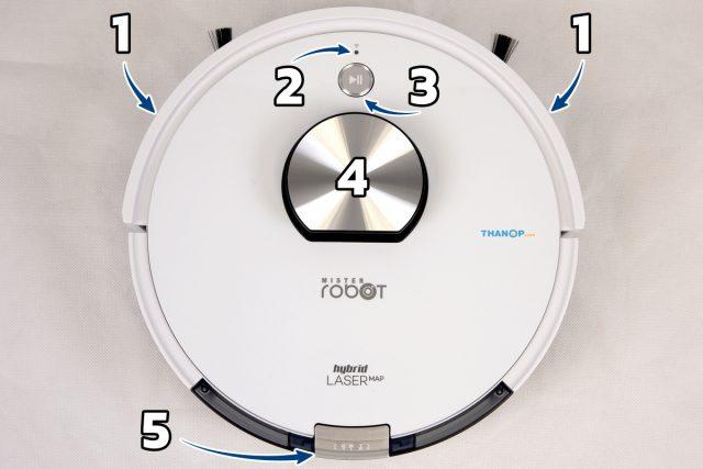 Mister Robot Hybrid LASER Map Component Top