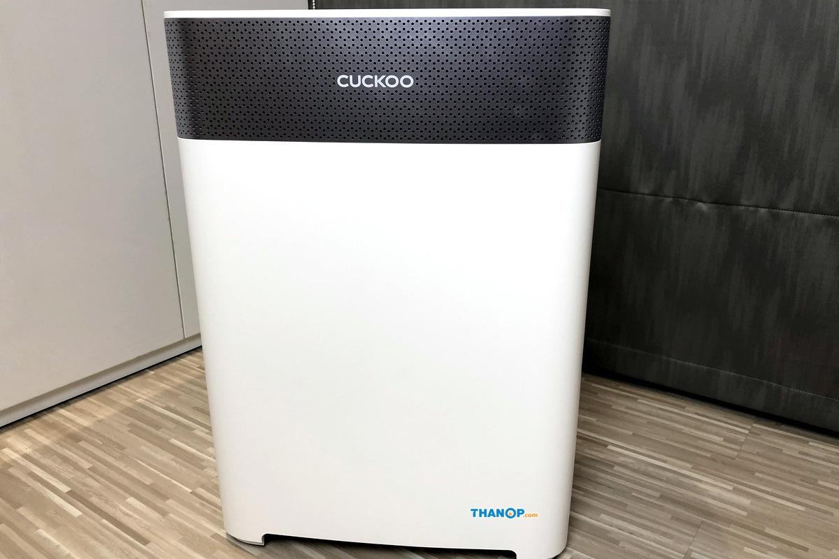 CUCKOO Air Purifier Power Consumption Test