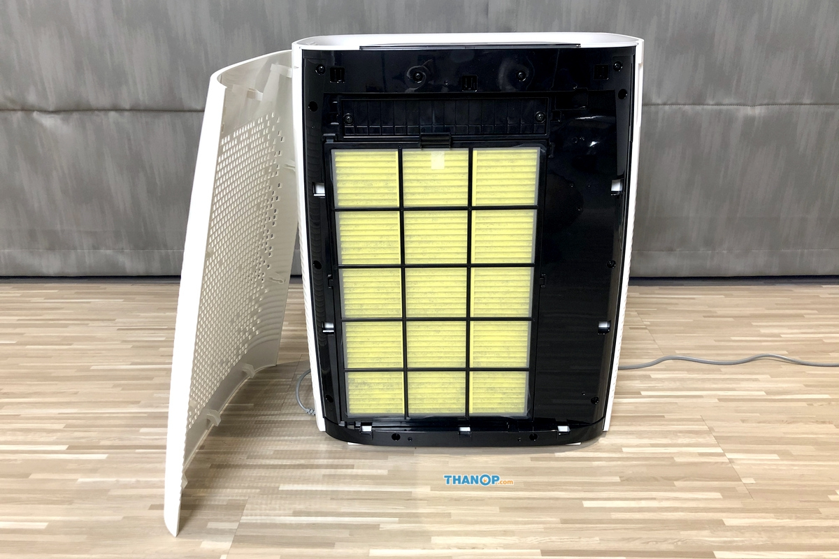 CUCKOO Air Purifier C Model Air Filter Removed