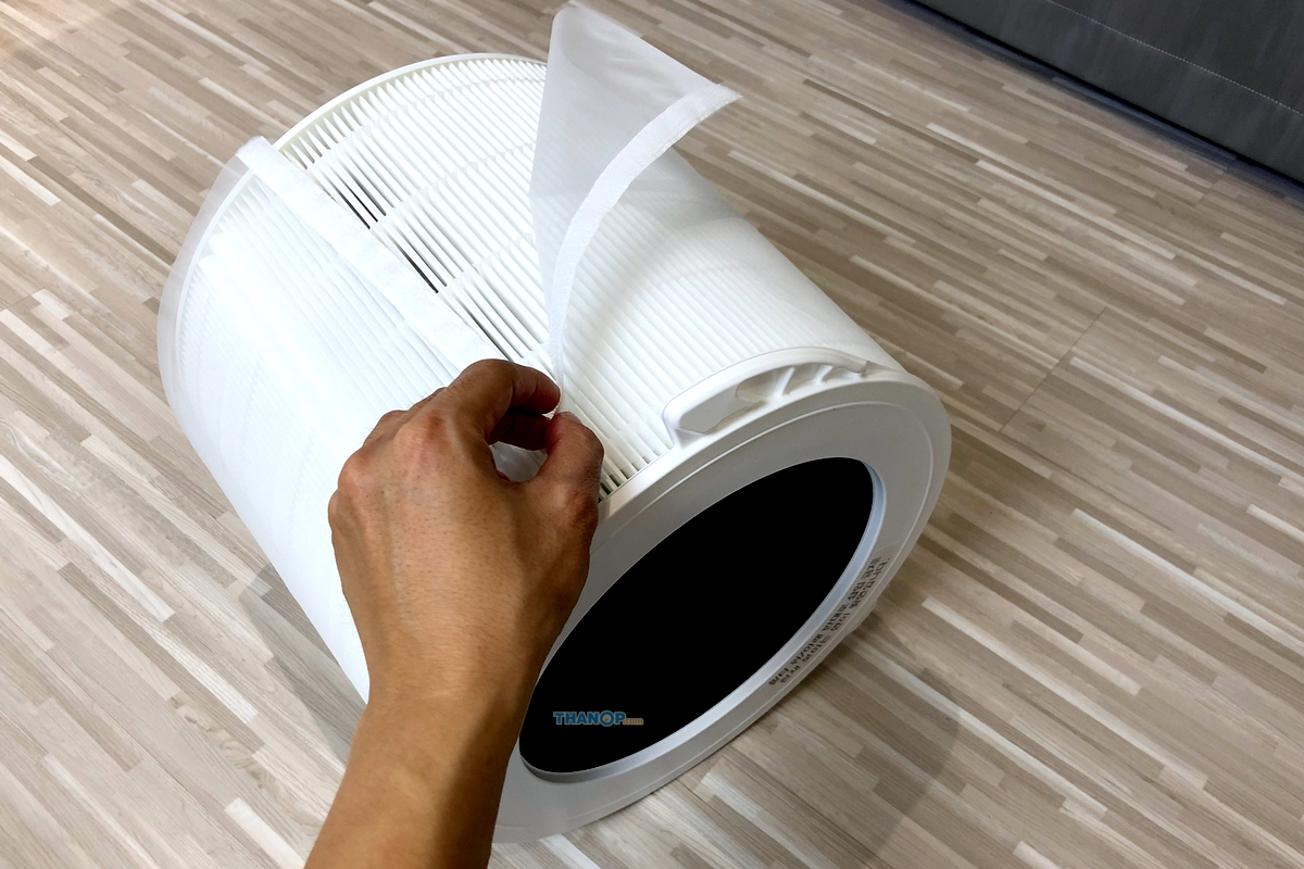 CUCKOO Air Purifier D Model Air Filter with Pre Filter Removed