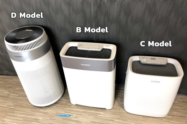 CUCKOO Air Purifier Model Lineup