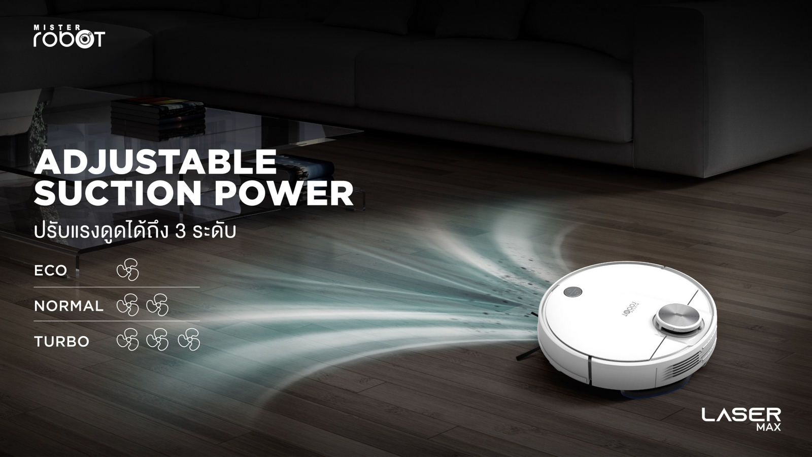 mister-robot-laser-max-feature-adjustable-suction-power