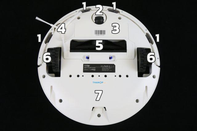Mister Robot LASER MAX Component Underside