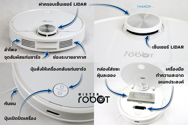 Mister Robot LASER MAX Top Detail