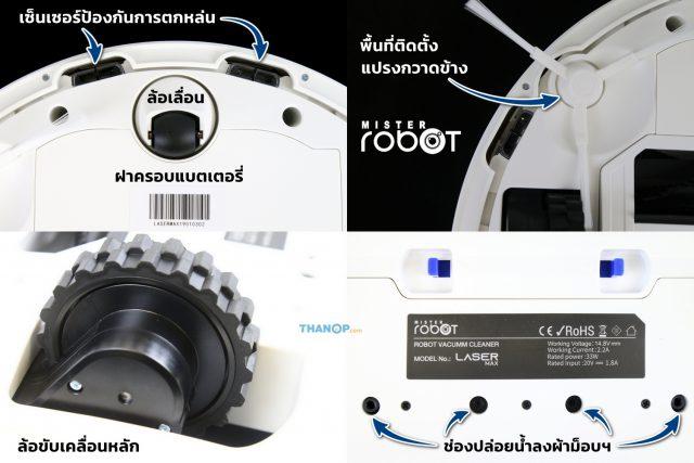 Mister Robot LASER MAX Underside Detail