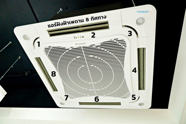 Cassette Type Air Conditioner Eight Way
