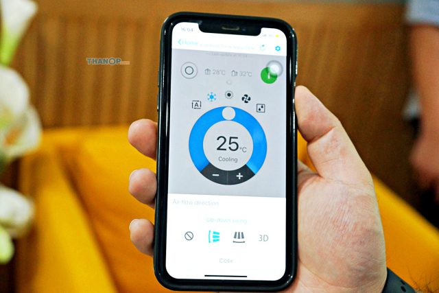 Cassette Type Air Conditioner Feature Smartphone Control