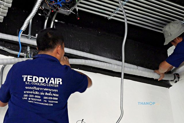 Cassette Type Air Conditioner Liquid Line Installation