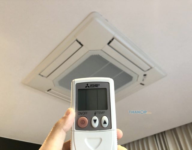 Cassette Type Air Conditioner Wireless Remote Control