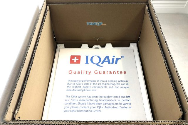 IQAir HealthPro 250 Box Unpacked