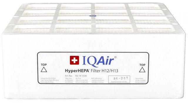 IQAir HealthPro 250 HEPA Filter Side