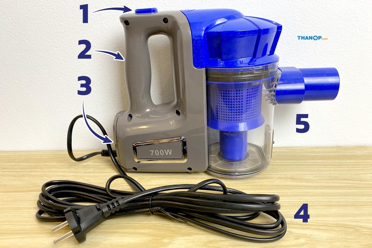 jowsua-cyclone-vacuum-cleaner-component-body-of-unit
