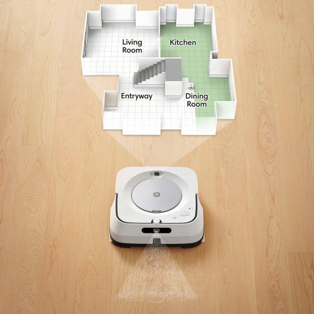 iRobot Braava jet m6 Feature Imprint Smart Mapping Navigation System