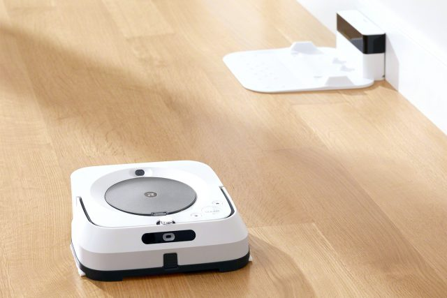iRobot Braava jet m6 Feature Recharge and Resume Mopping Functions