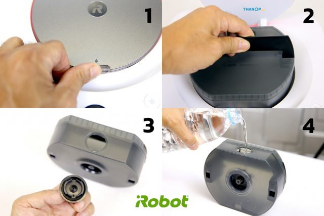 iRobot Braava jet m6 Water Tank Filling
