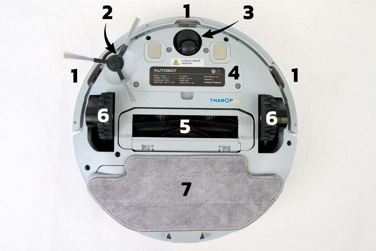 AUTOBOT Lazer 4 Component Underside