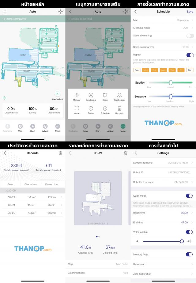 Lazer 4 App Interface Example