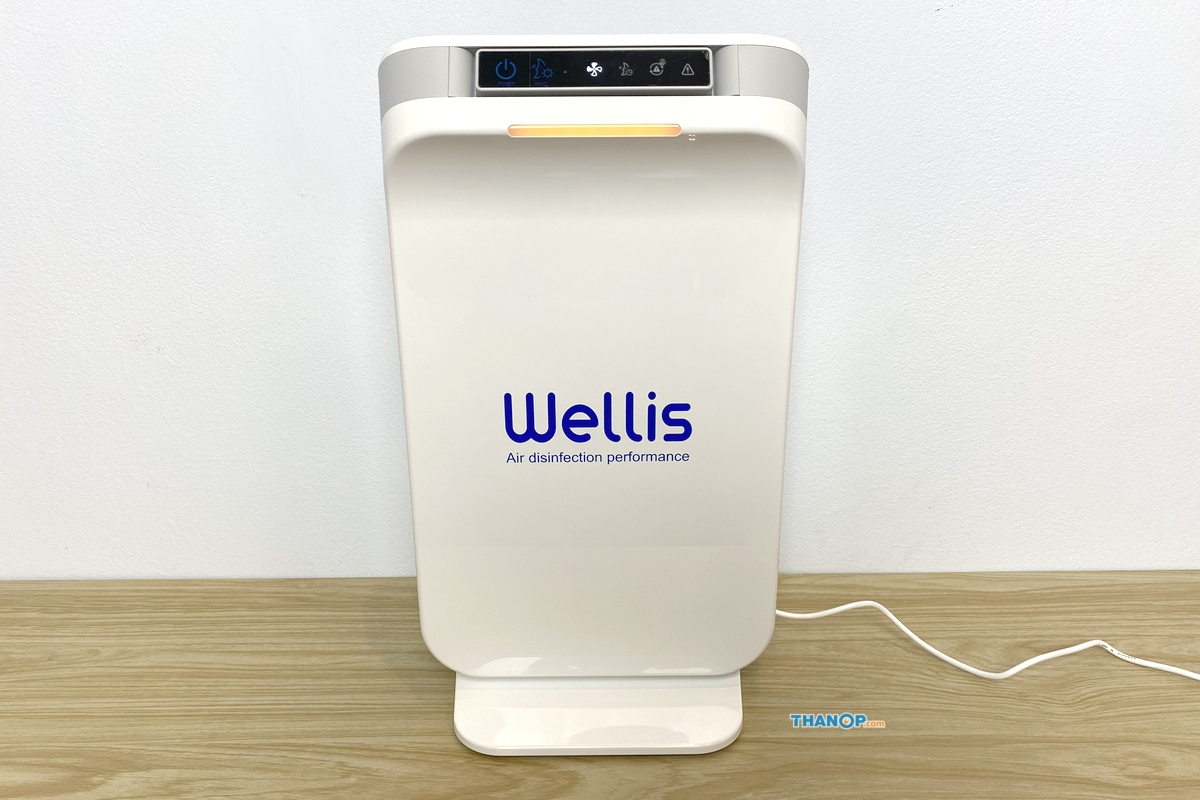 Wellis Air Disinfection Purifier Certificate Example