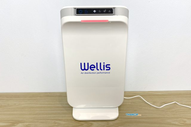 Wellis Air Disinfection Purifier Air Quality Poor