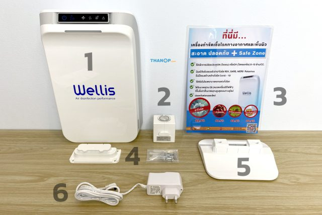 Wellis Air Disinfection Purifier Component