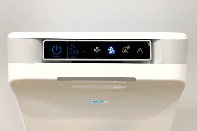 Wellis Air Disinfection Purifier Control Panel and Operation Status Indicator