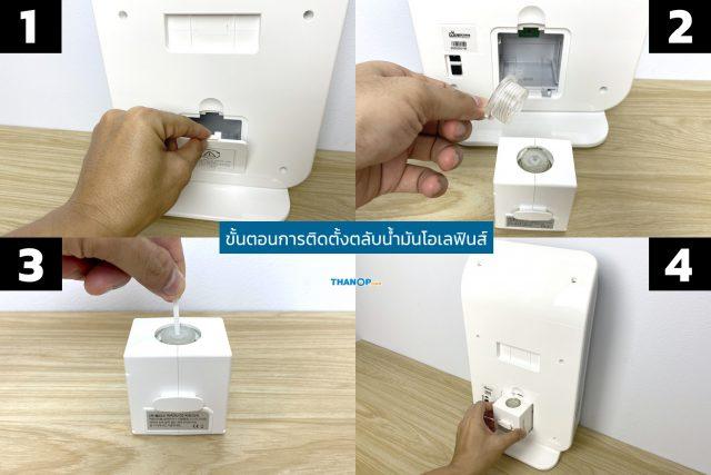 Wellis Air Disinfection Purifier Olefin Oil Cartridge Installation