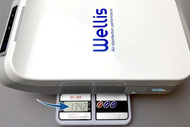 Wellis Air Disinfection Purifier Weight
