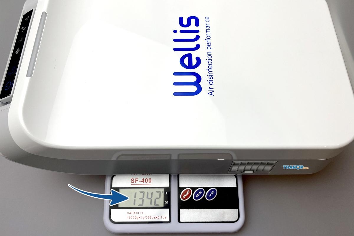 wellis-air-disinfection-purifier-weight