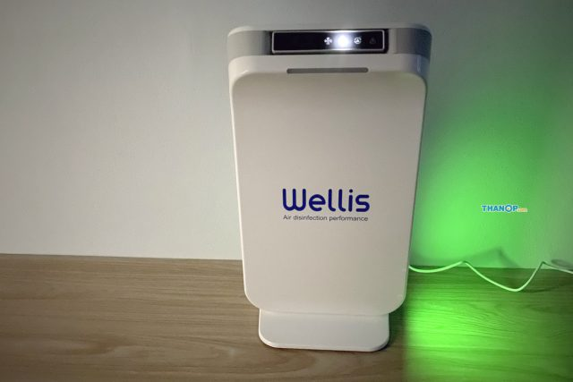 Wellis Air Disinfection Purifier Working Night Mode