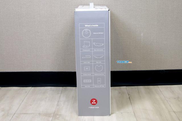 Xiaomi Roborock S6 MaxV Box Left