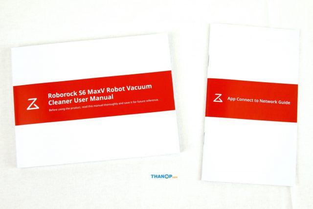 Xiaomi Roborock S6 MaxV User Manual and App Quick Start Guide