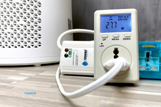 MEX Purifina P401 Power Consumption Test