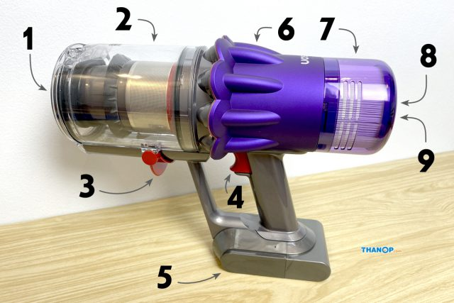 Dyson Digital Slim Component Main Body