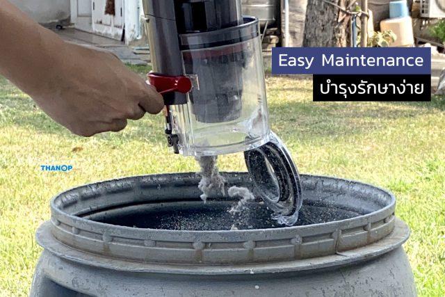 Dyson Digital Slim Feature Easy Maintenance Dustbin Emptying