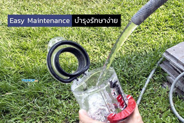 Dyson Digital Slim Feature Easy Maintenance Dustbin Washing
