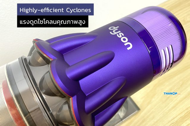 Dyson Digital Slim Feature Highly-Efficient Scrolled Cyclones