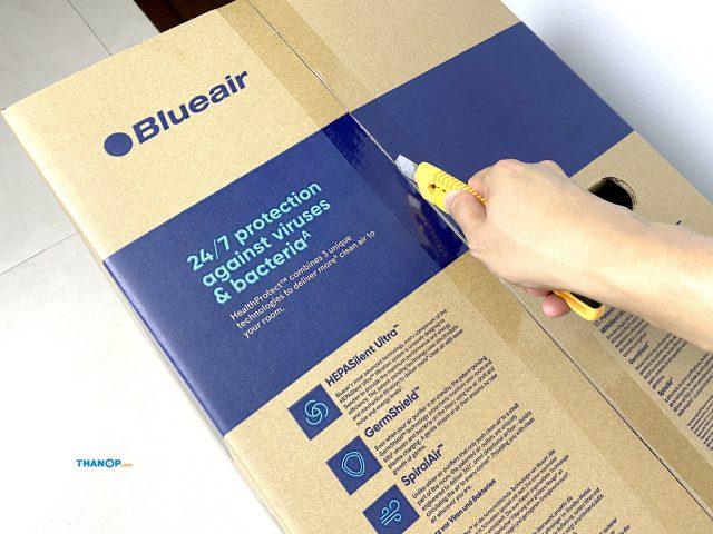 Blueair HealthProtect 7770i Box Unpacking