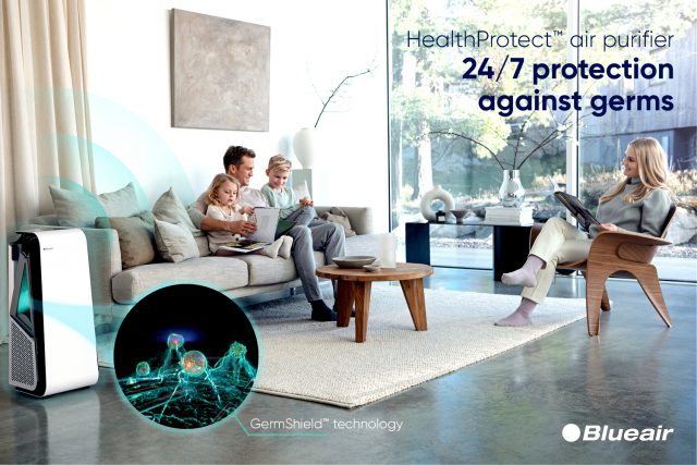 Blueair HealthProtect 7770i Feature GermShield™ Technology