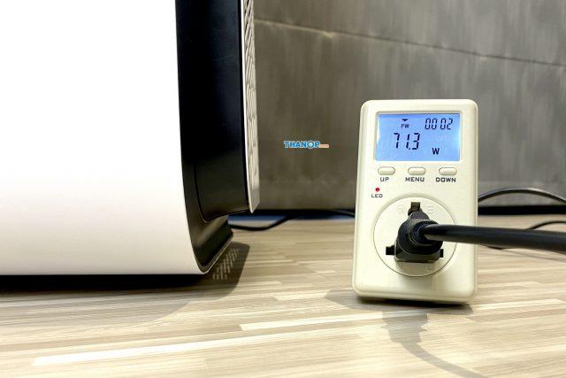 Blueair HealthProtect 7770i Power Consumption Test
