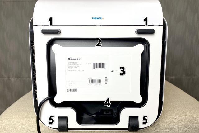 Blueair HealthProtect 7770i Underside Component