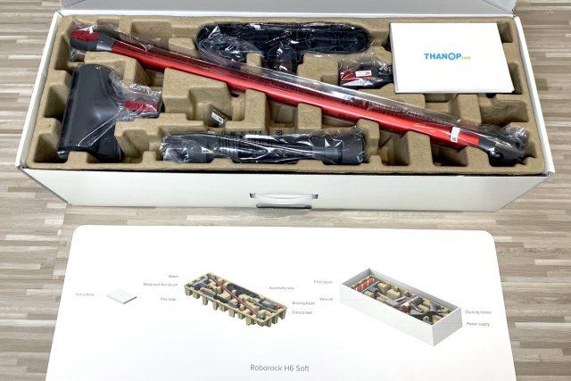 Roborock H6 Box Unpacked
